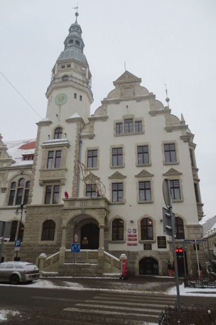 Rathaus von Kamienna Góra (Landeshut) © Wolfgang Stoephasius