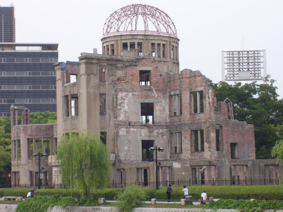 Mahnmal in Hiroshima © Wolfgang Stoephasius