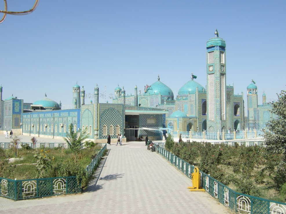 Die blaue Moschee © Wolfgang Stoephasius