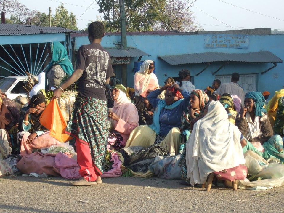 Straßenszenen in Harar © Wolfgang Stoephasius