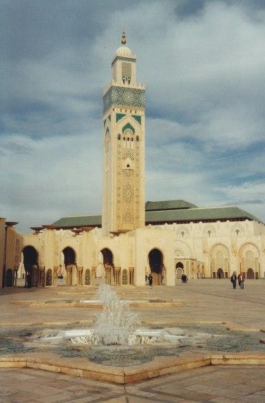 Hassan-II- Moschee in Casablanca © Wolfgang Stoephasius