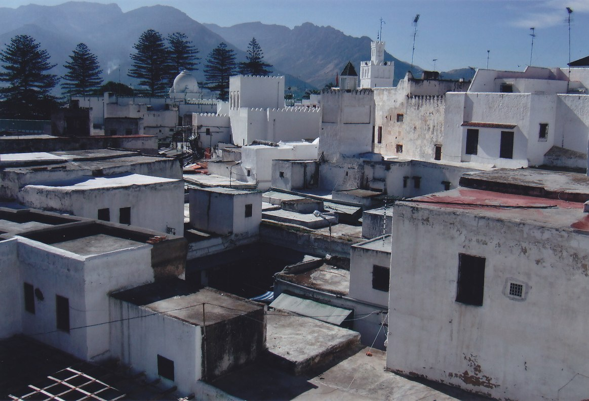 Blick vom Dach des Teppichladens in Tétouan © Wolfgang Stoephasius