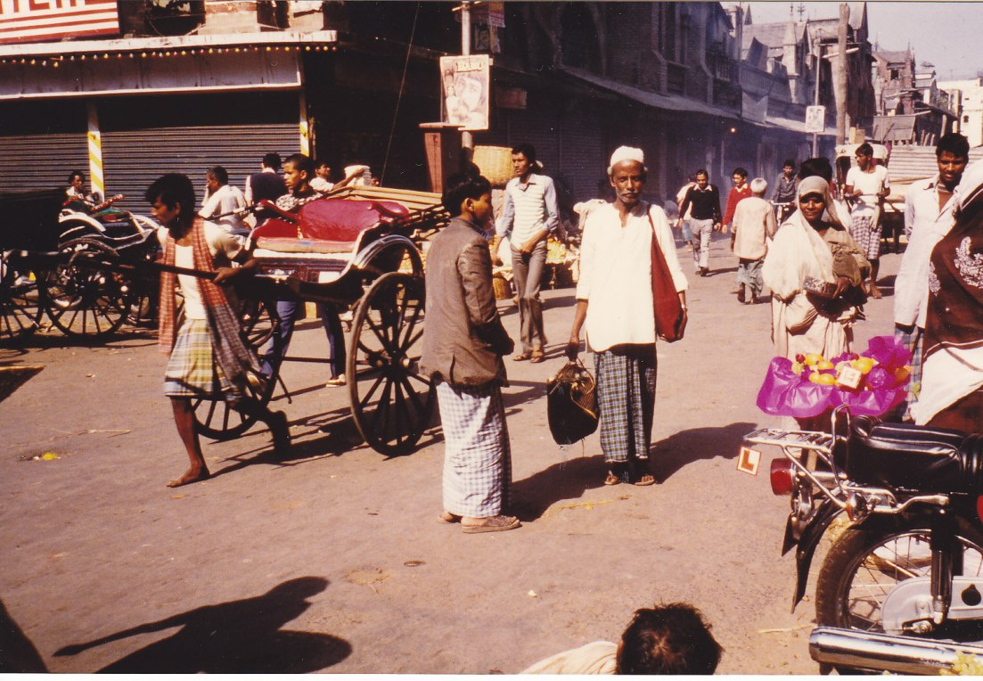 Ankunft in Kalkutta © Wolfgang Stoephasius