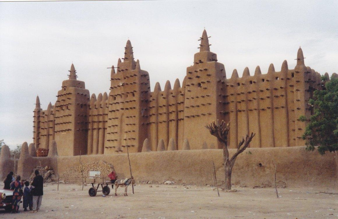 Die Moschee von Djenne © Wolfgang Stoephasius