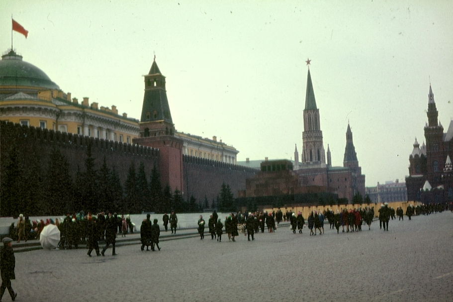 Der Rote Platz in Moskau 1967 © Wolfgang Stoephasius