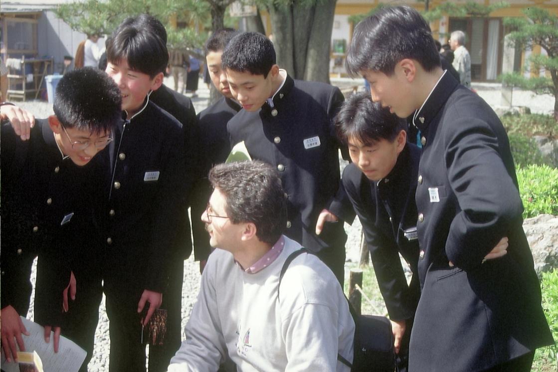 Japanische Schüler © Wolfgang Stoephasius