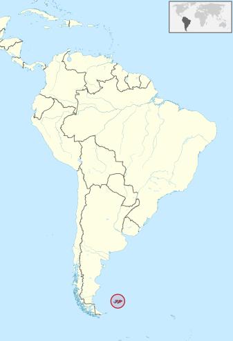 Falkland Karte