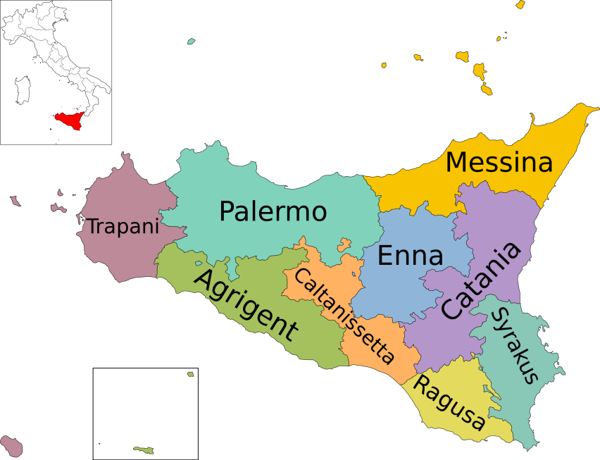 Map_of_region_of_Sicily,_Italy,_with_provinces-de.svg